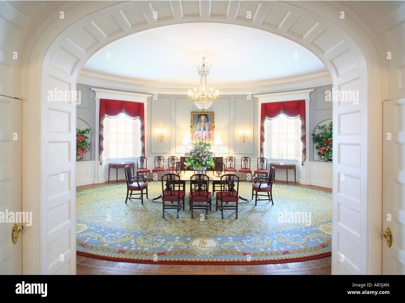 Dining Room Executive Mansion Richmond Virginia USA