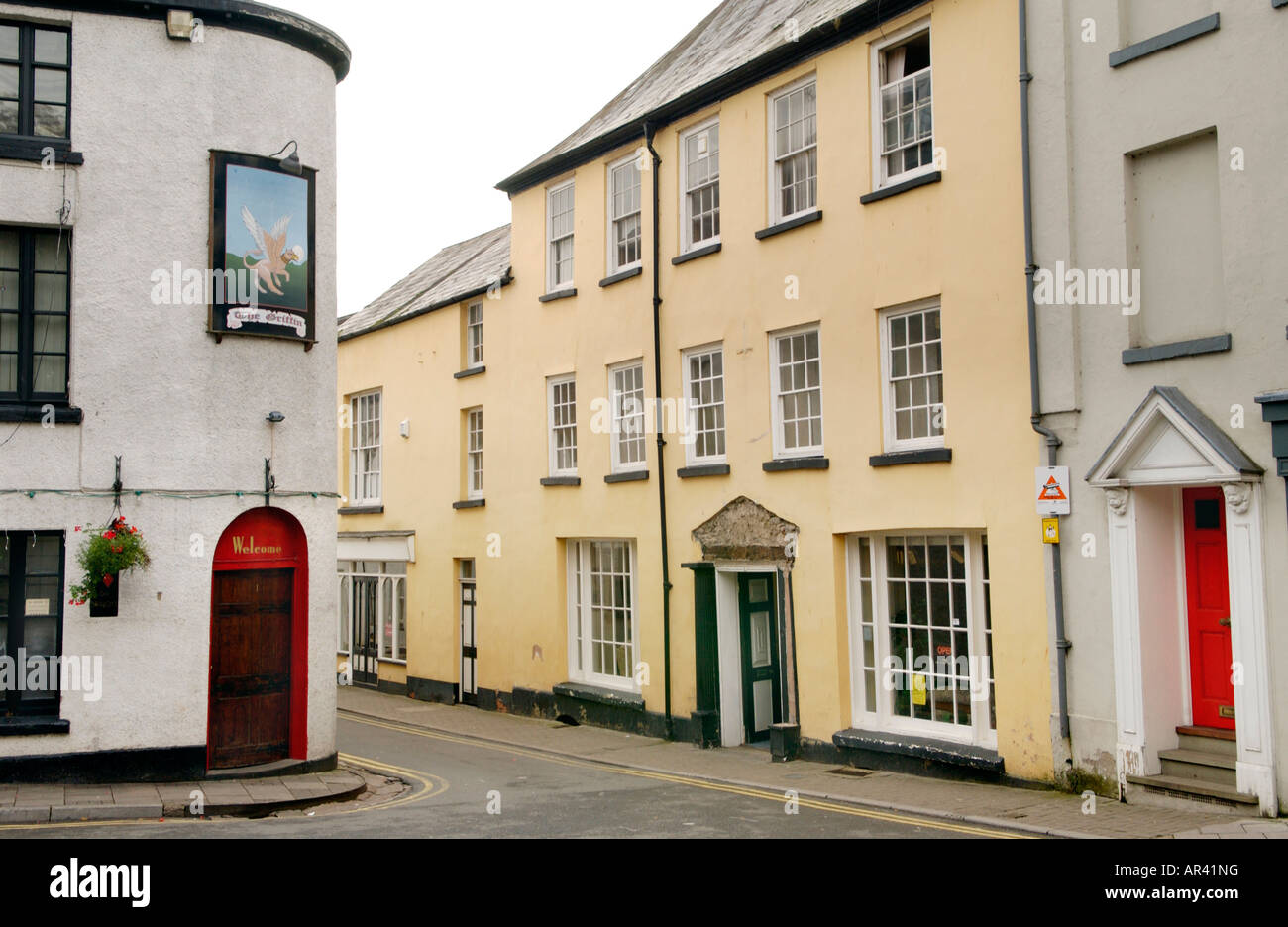 The Former Angel Hotel Coaching Inn St Marys Street Monmouth Stock