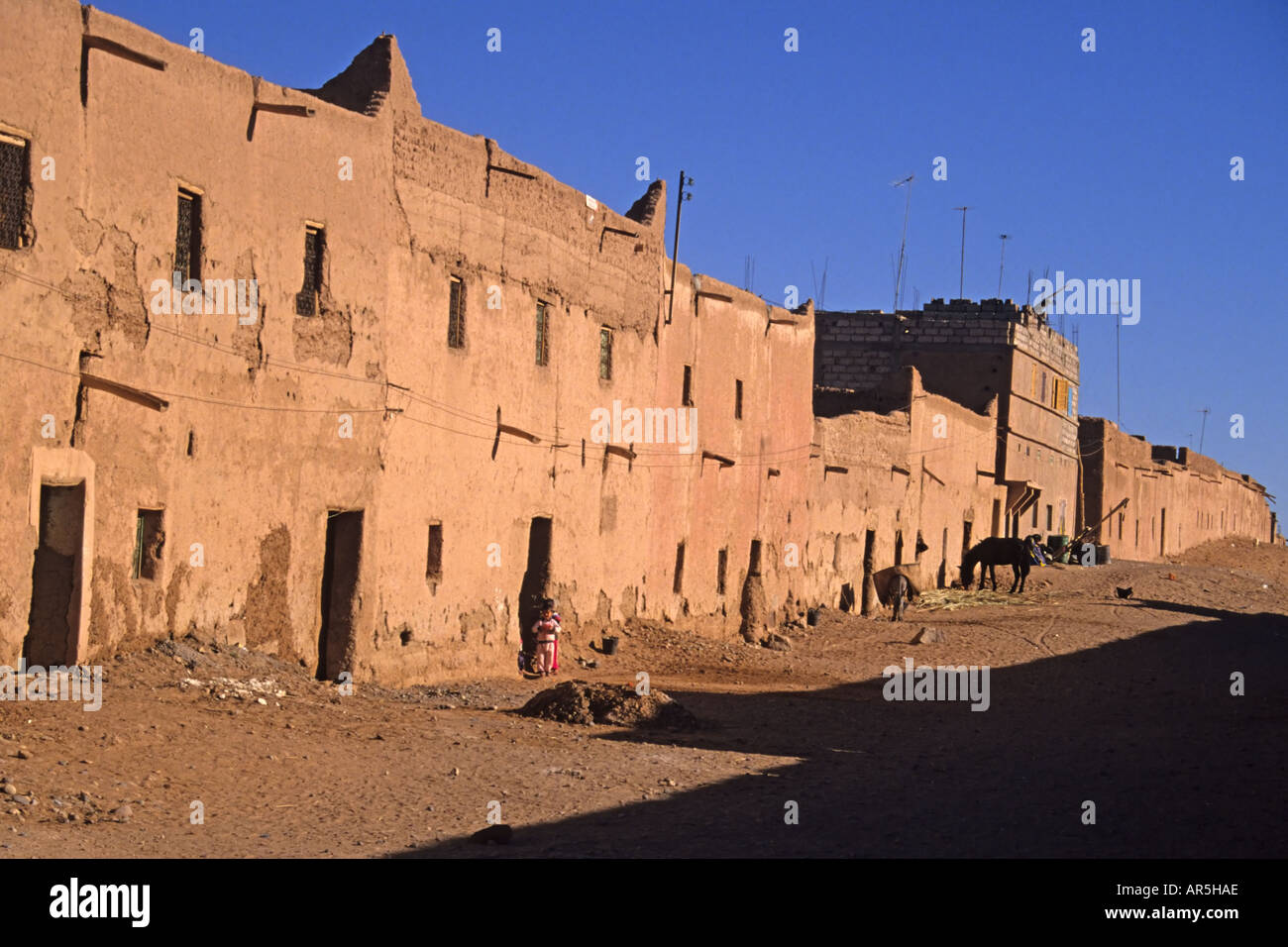 Adobe Buildings in Morocco Stock Photo Royalty Free Image
