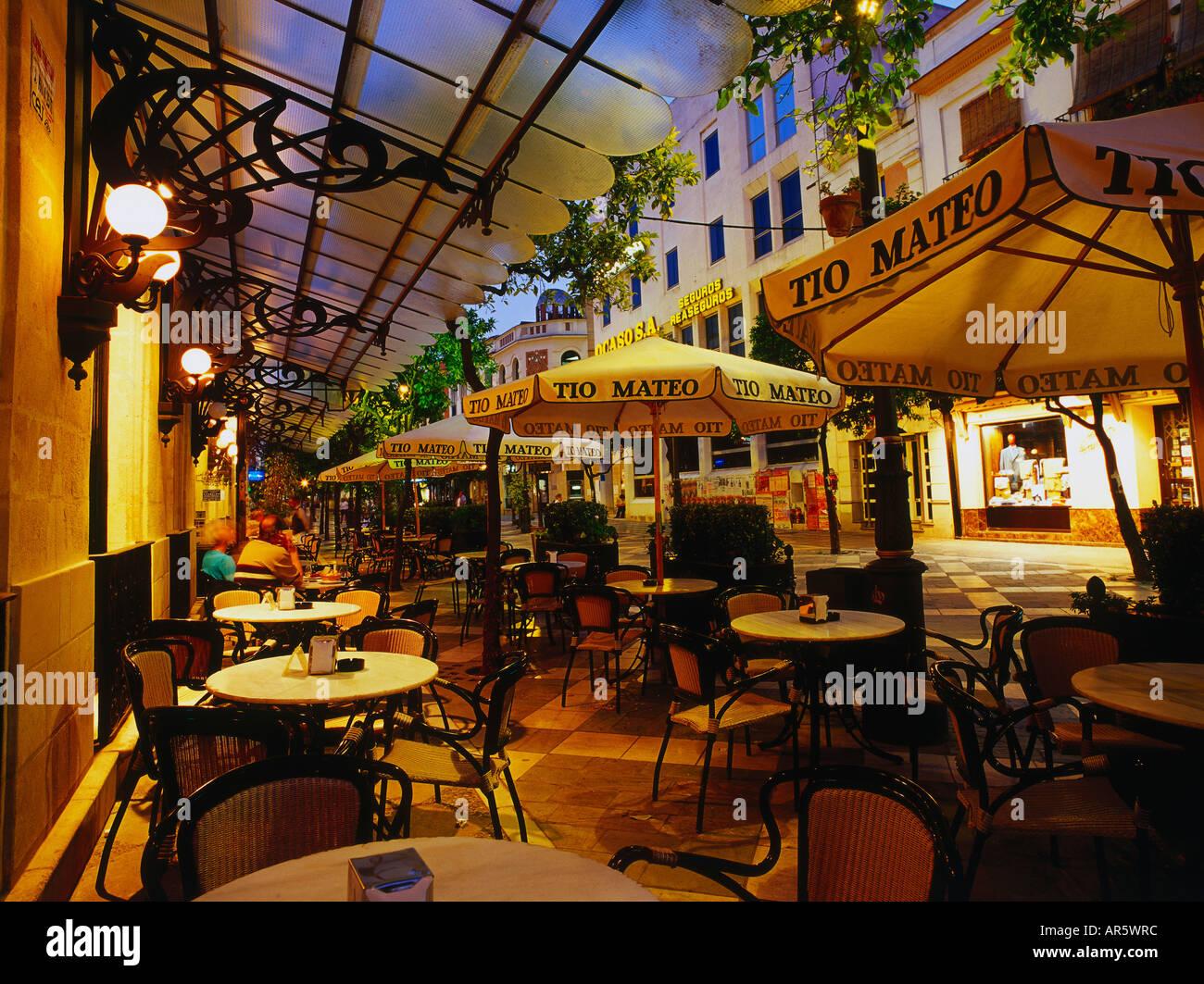 Street cafe jerez de la frontera province cadiz for Muebles en jerez dela frontera cadiz