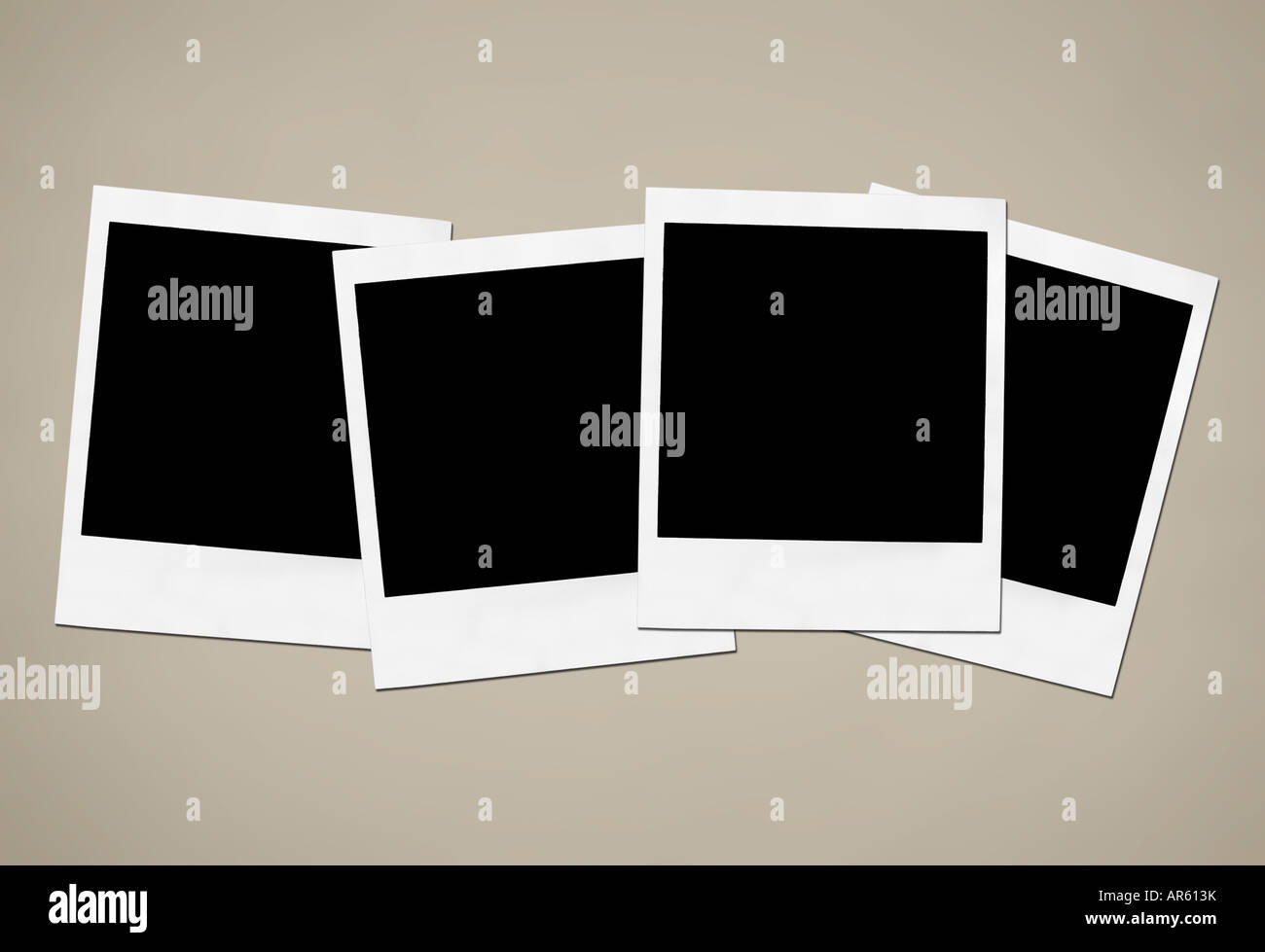 Collection of blank instant camera frames Stock Photo: 15950070 - Alamy