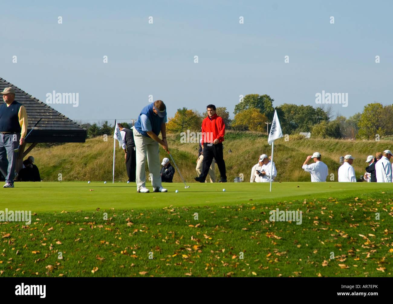 Whistling Straits Golf Course Kohler Wisconsin USA Stock Photo ...