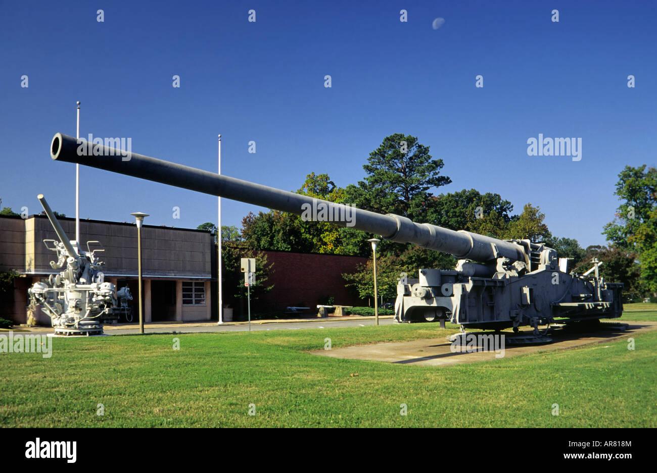 Mm T Gun Virginia War Museum Newport News Virginia USA Stock - Gun museums in usa
