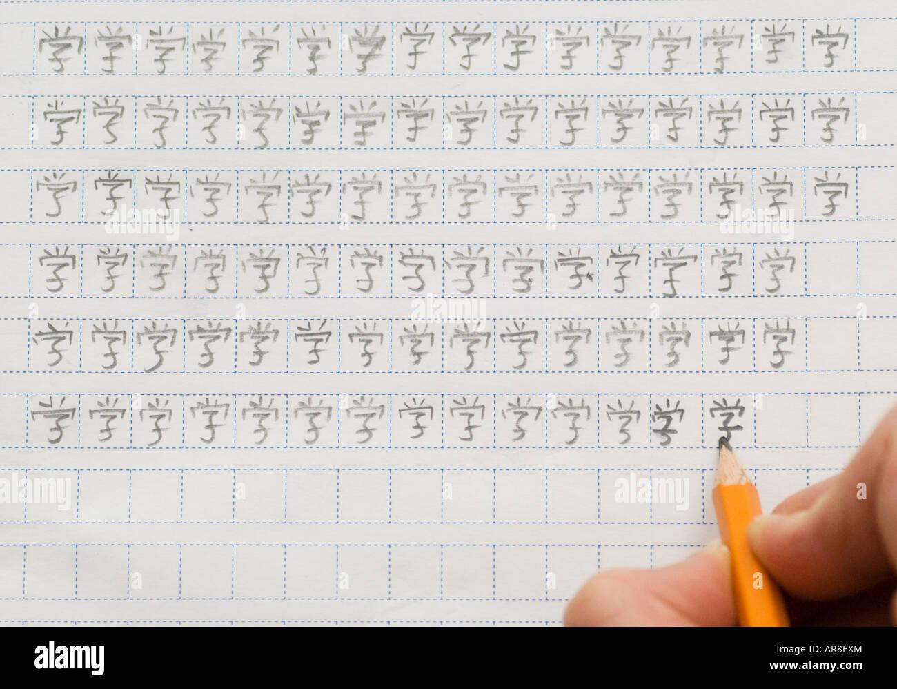 write chinese essay