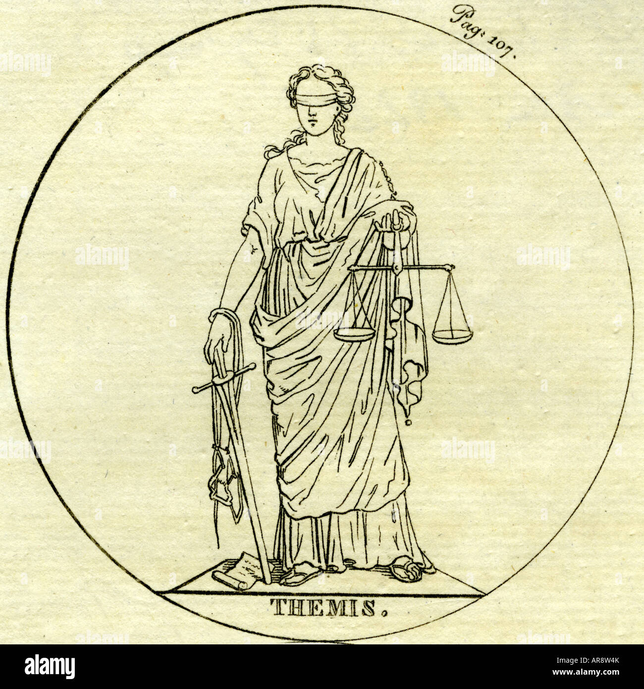 themis greek goddess of legal system and justice titan lover of