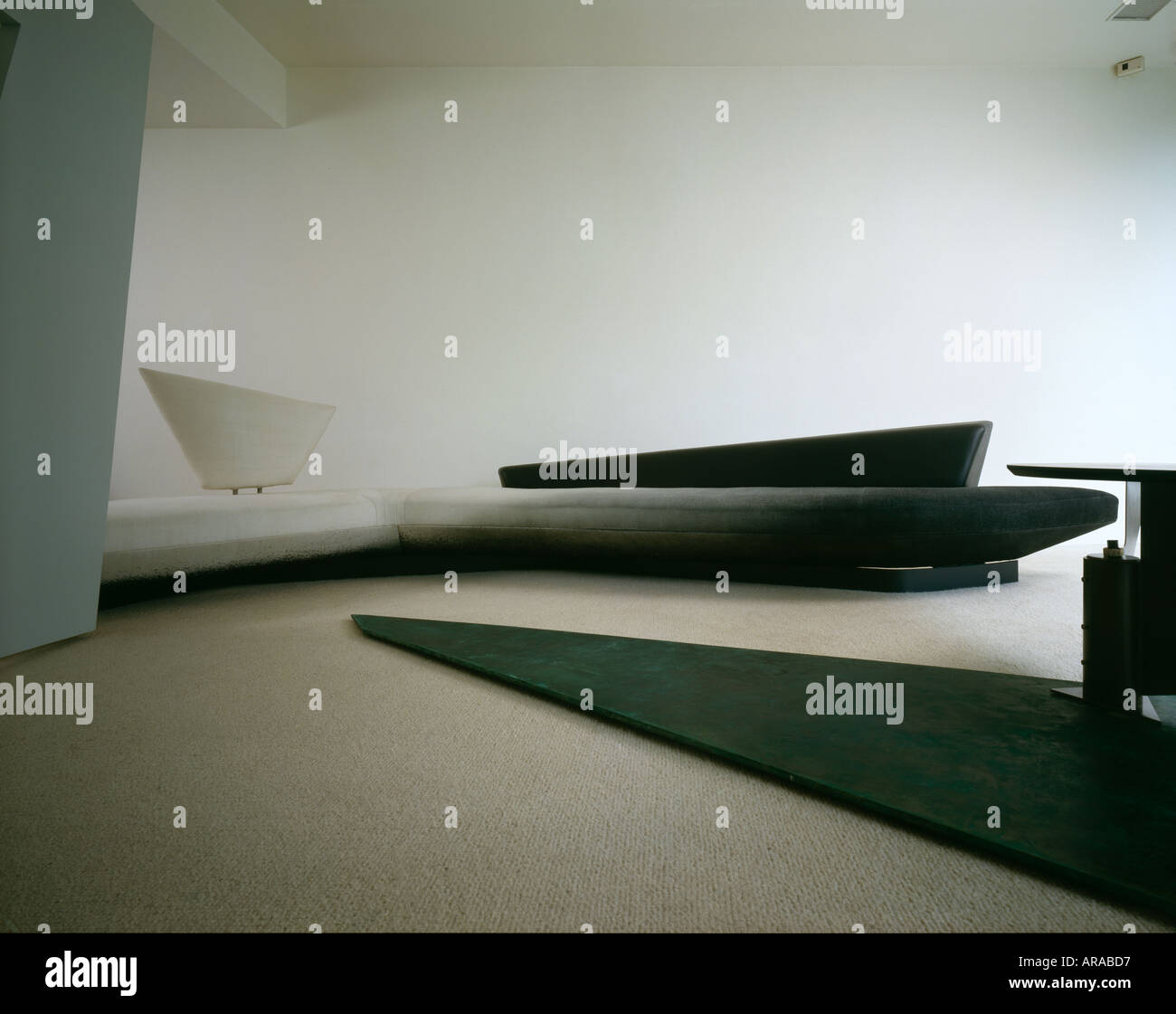 Stock Photo   Zaha Hadid Designed Furniture At Cathcart Road. Architect: Zaha  Hadid