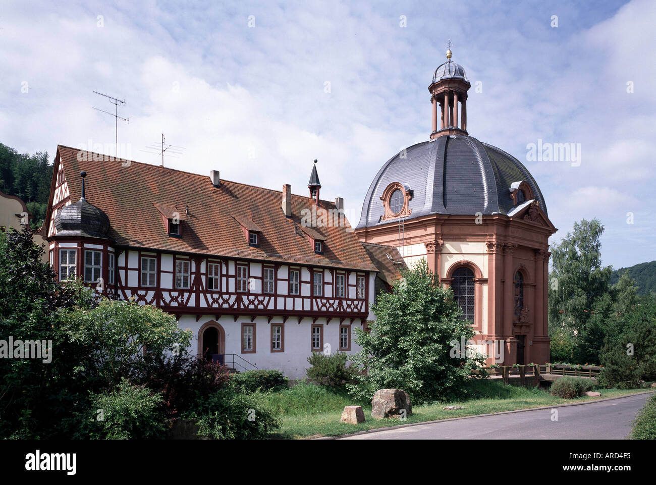 Holzkirchen, St. Michael, Pfarrkirche Stock Photo, Royalty Free