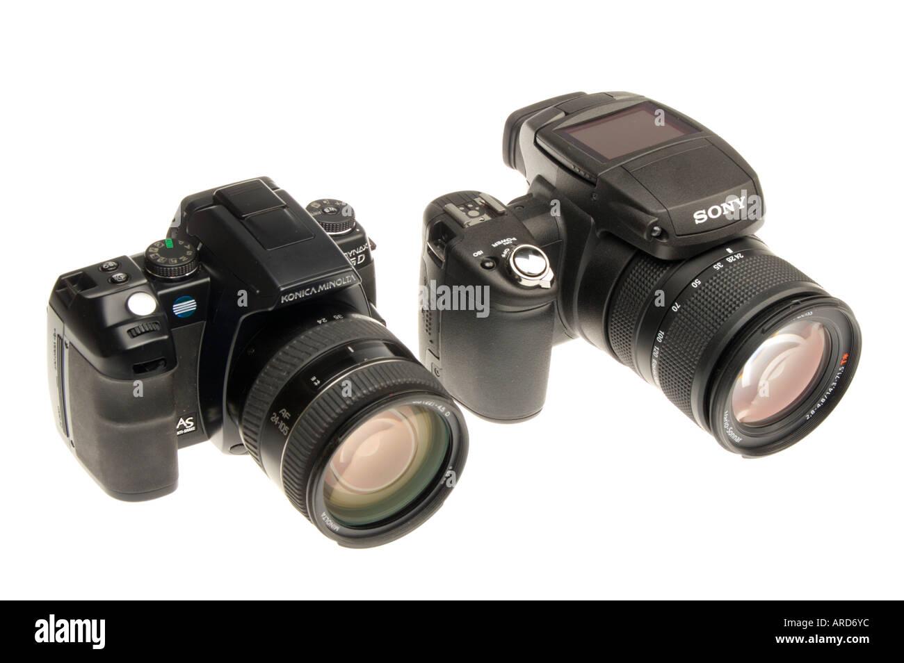 konica minolta dynax 5d and sony r1 digital cameras - Minolta Digital Camera