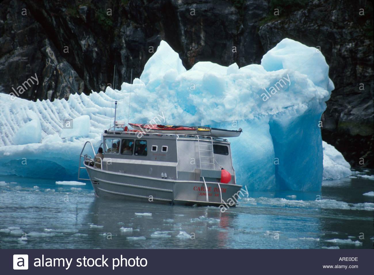 Alaska Juneau South Sawyer Glacier Tracy Arm Fjord Glacier Cruise - Tracy arm fjord