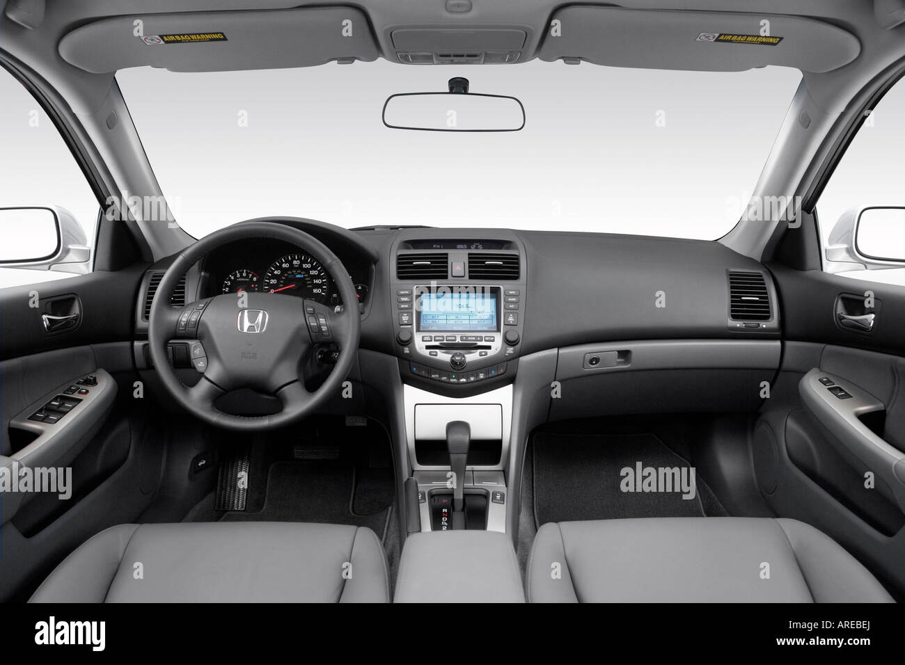 2006 honda accord hybrid in silver dashboard center. Black Bedroom Furniture Sets. Home Design Ideas