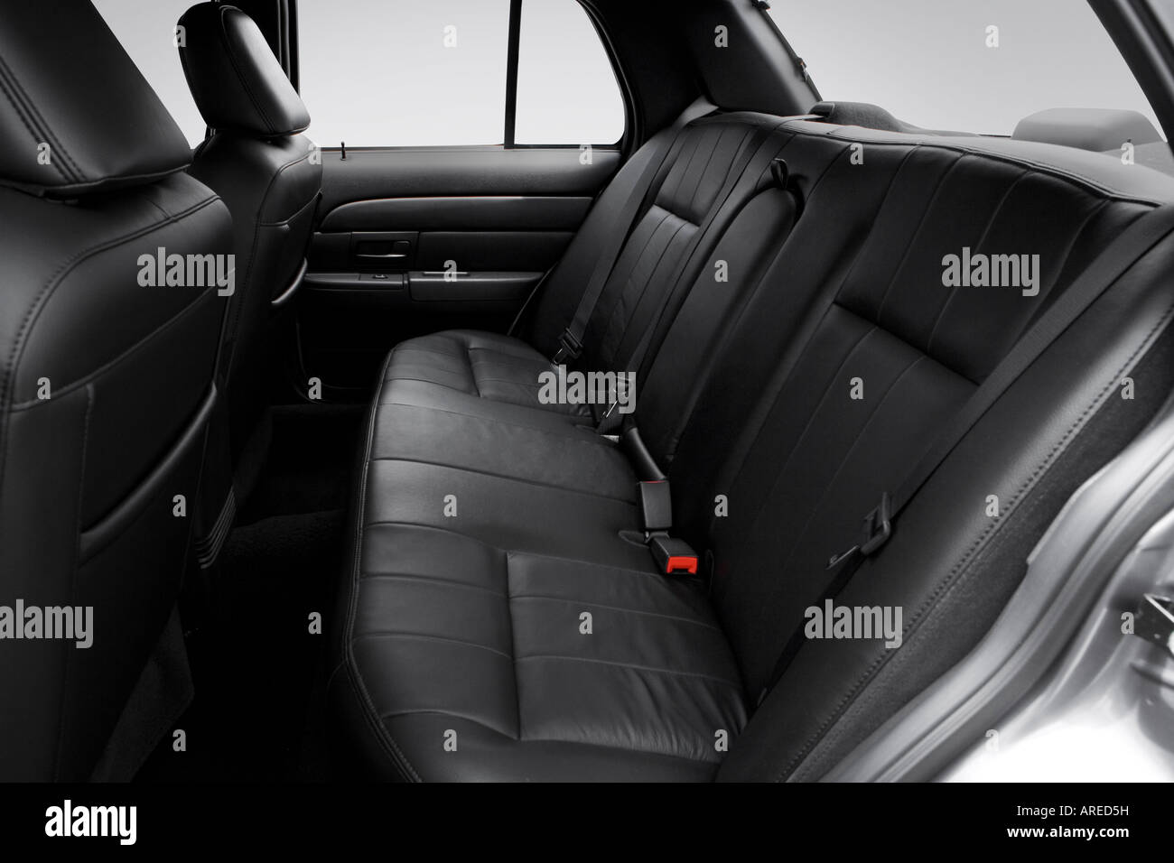 2006 ford crown victoria lx sport in gray rear seats stock photo royalty free image 16029388. Black Bedroom Furniture Sets. Home Design Ideas