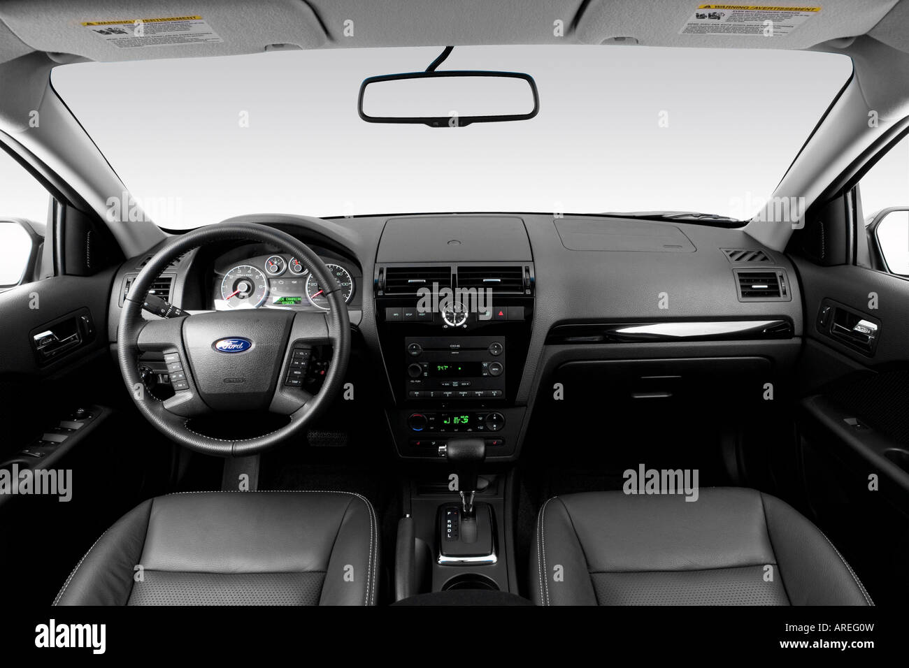 2006 ford fusion sel v6 in black dashboard center. Black Bedroom Furniture Sets. Home Design Ideas