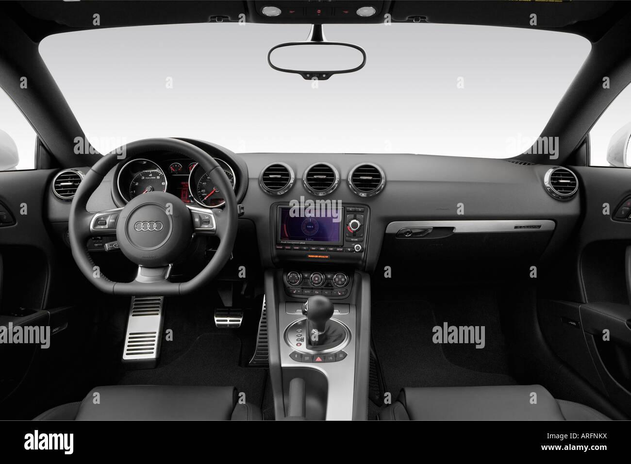 2008 Audi TT 32 quattro in Silver  Dashboard center console