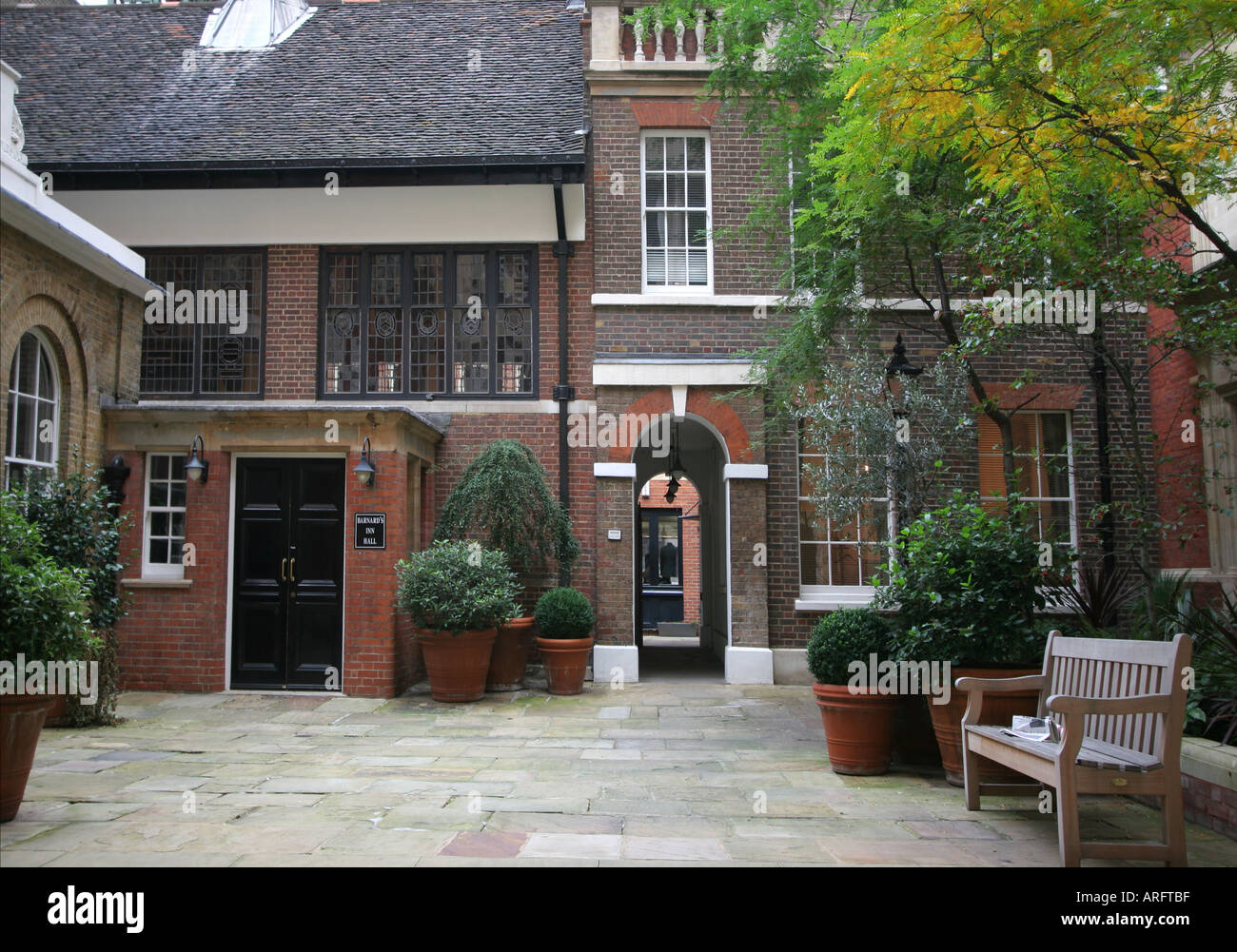 Gresham College at Barnards Inn Hall London Stock Photo ...