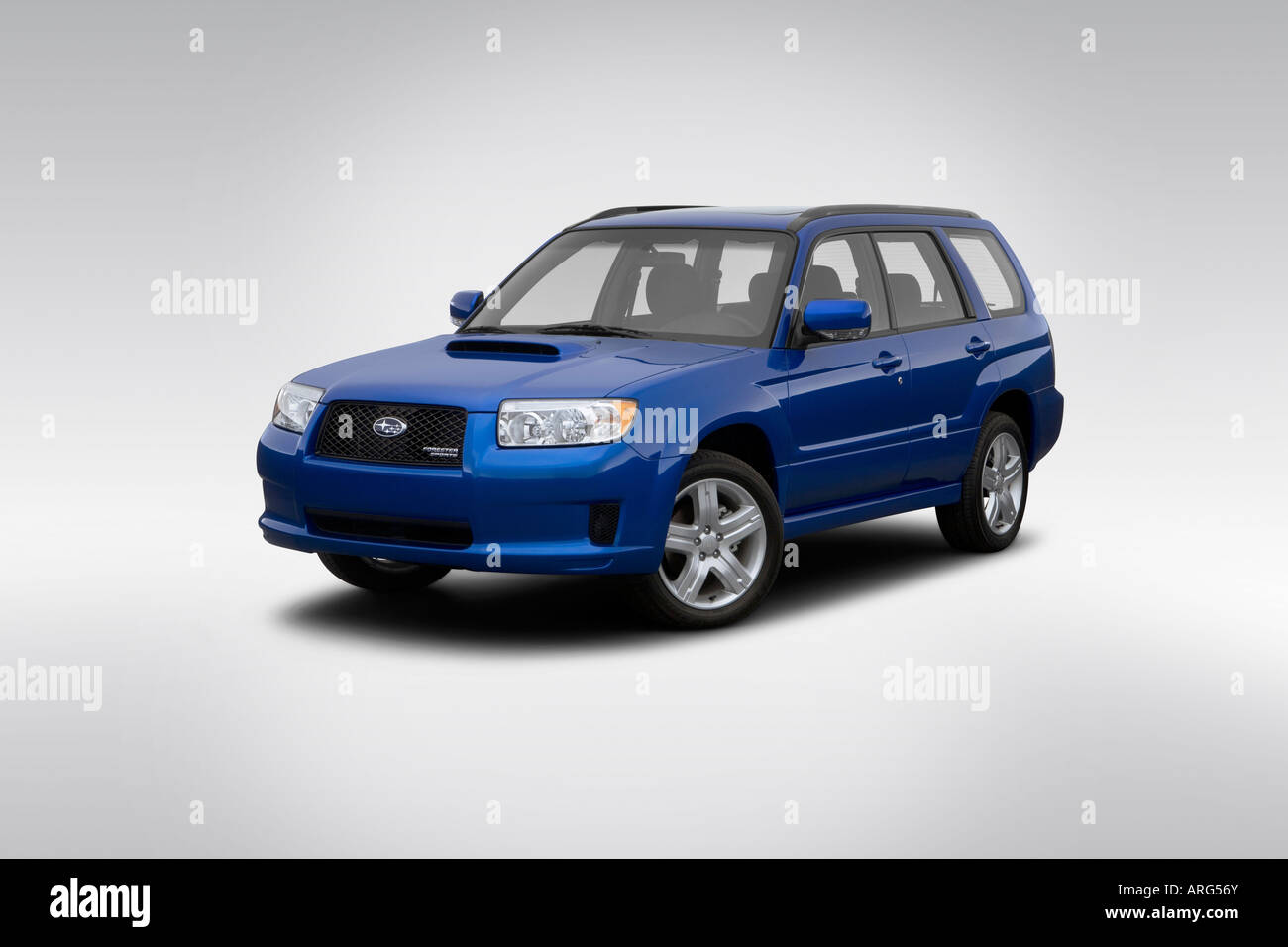2007 subaru forester sports 25 xt in blue front angle view 2007 subaru forester sports 25 xt in blue front angle view vanachro Choice Image