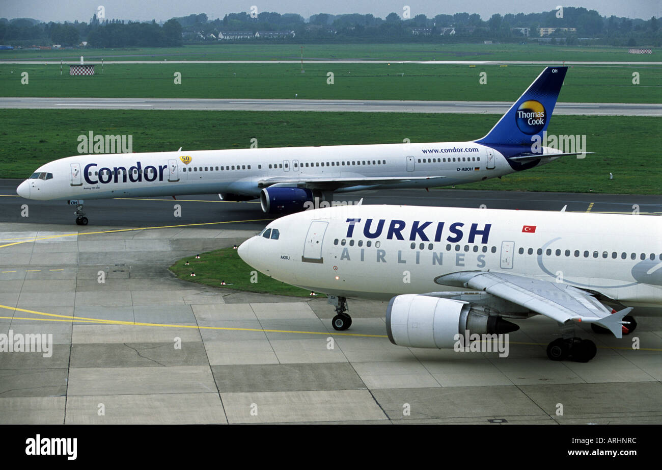 condor airlines boeing 757 300 and turkish airlines. Black Bedroom Furniture Sets. Home Design Ideas