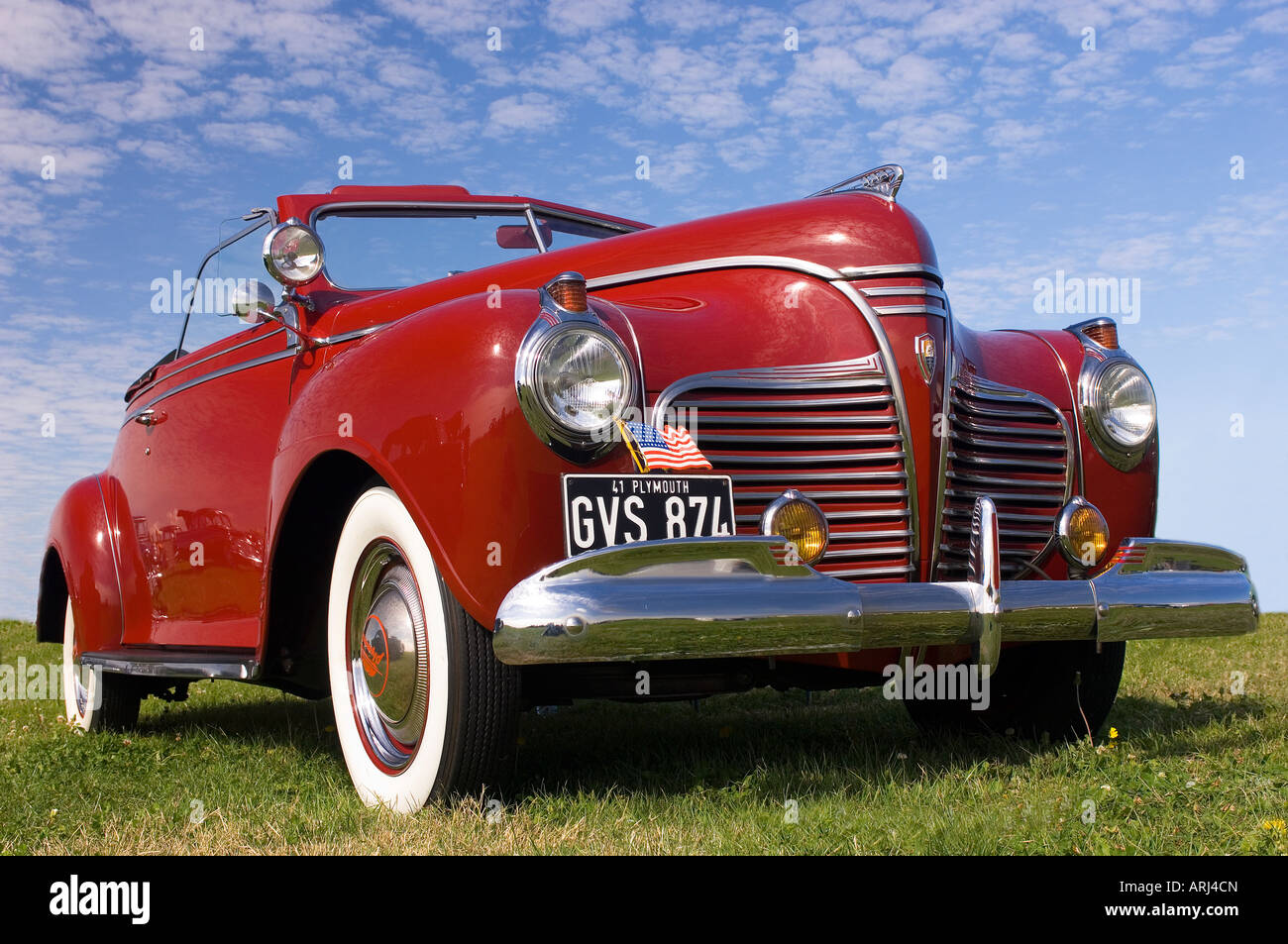 A Classic 1941 Chrysler Plymouth Special Deluxe P11 Power