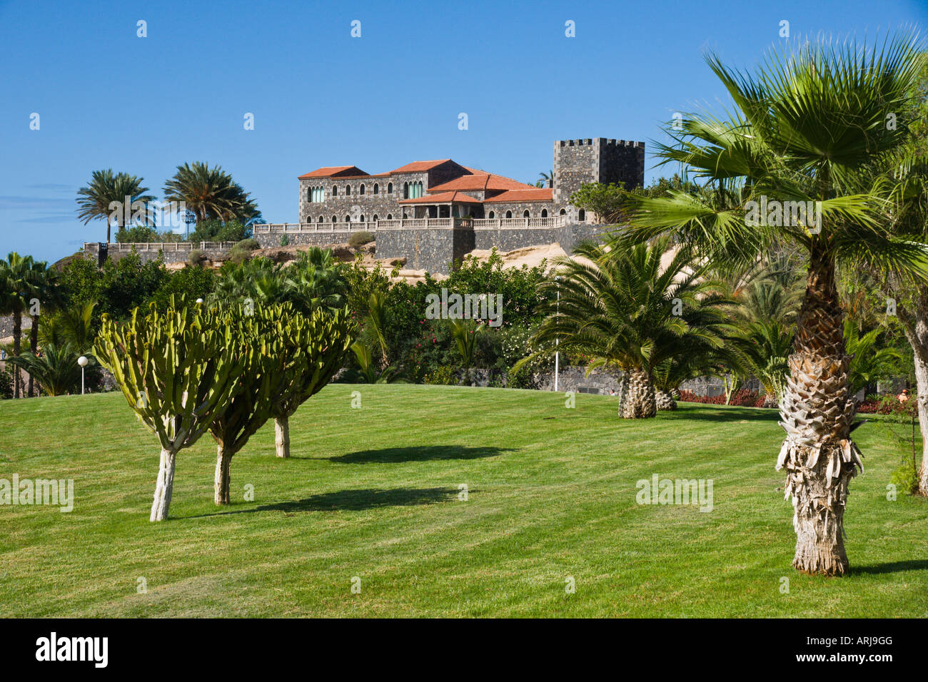 tenerife duke u0027s castle bahia del duque costa adeje with gardens