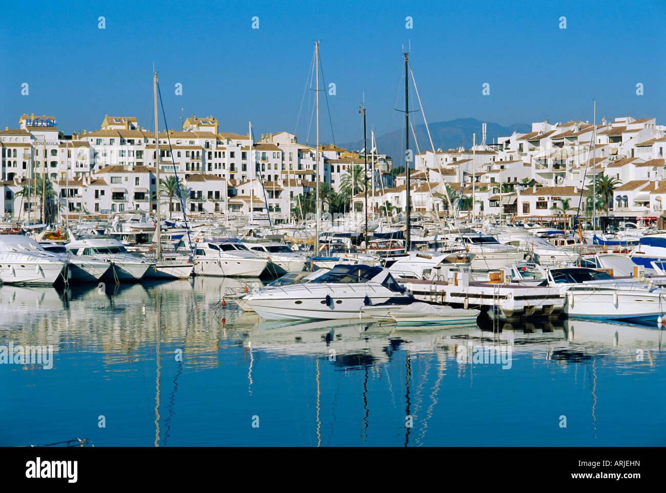 Puerto Banus Near Marbella Costa Del Sol Andalucia