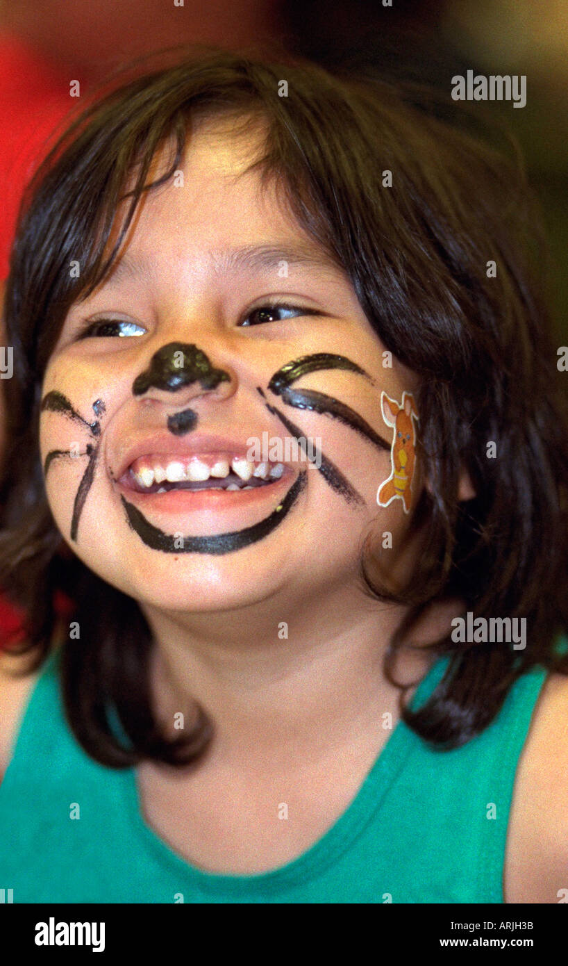 Uncategorized Cat Whiskers Face Paint girl age 5 church soup kitchen with cat whiskers painted on face exchange charities easter dinner minneapolis minnesota mn usa