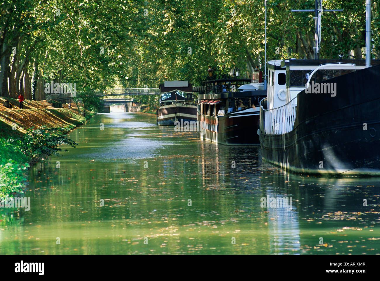 brienne canal toulouse haute garonne midi pyrenees france europe stock photo royalty free. Black Bedroom Furniture Sets. Home Design Ideas