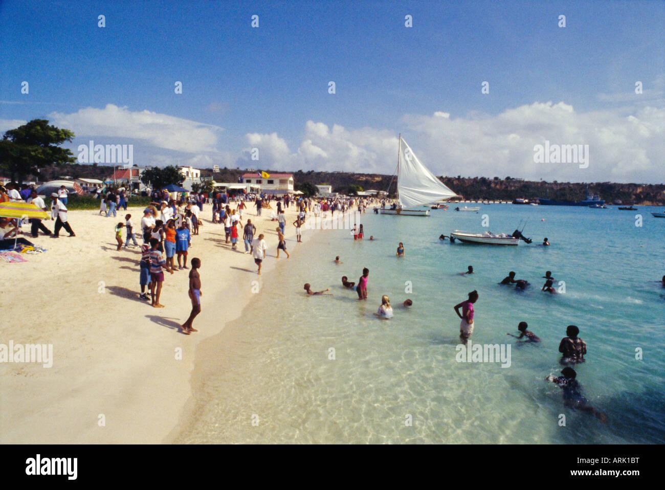 Sandy Ground Anguilla British West Indies Grainy