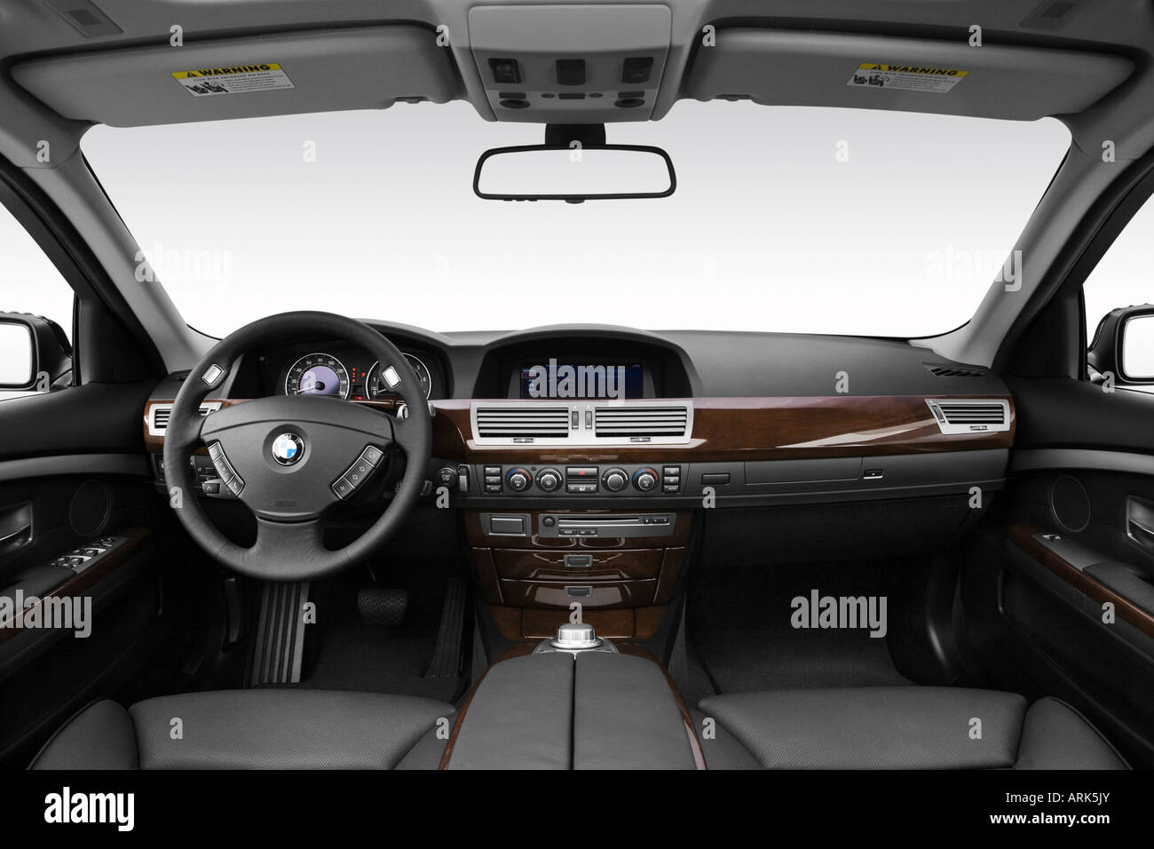 BMW Series I In Black Dashboard Center Console Gear - 2008 bmw 750i