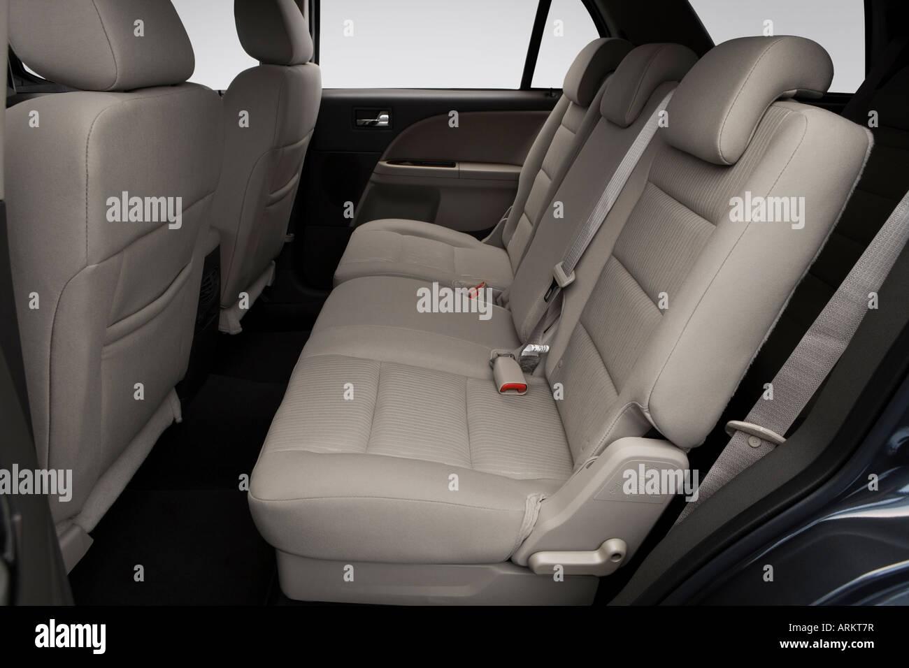 2008 ford taurus x sel in gray rear seats