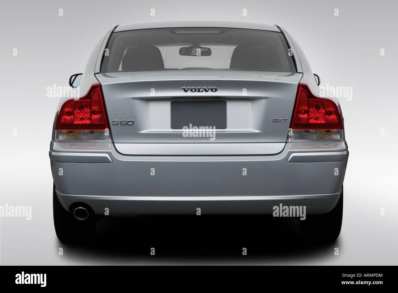 2008 volvo s60 2 5t in silver low wide rear