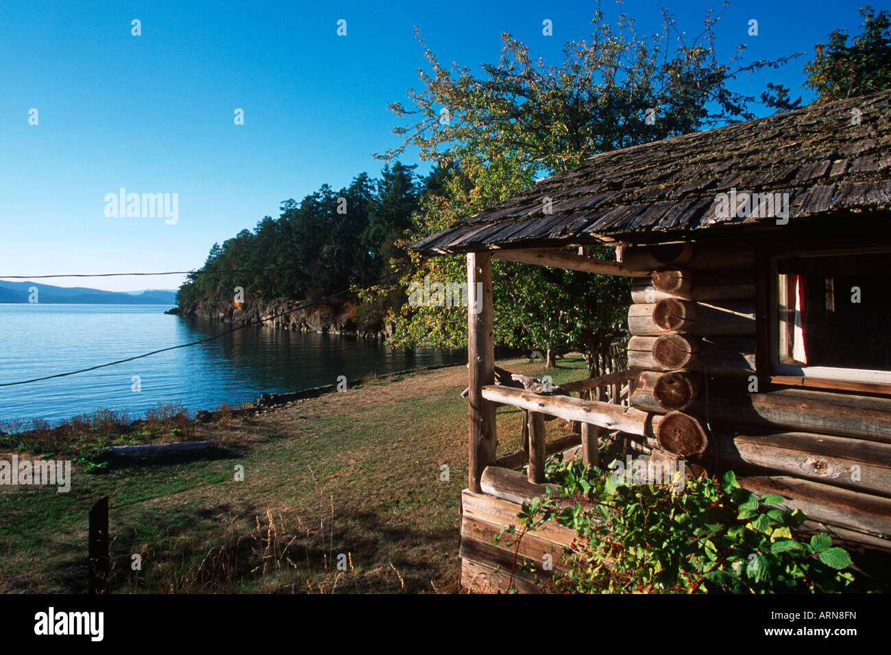 Charmant Roesland, Pender Island, Gulf Islands National Park, British Columbia,  Canada