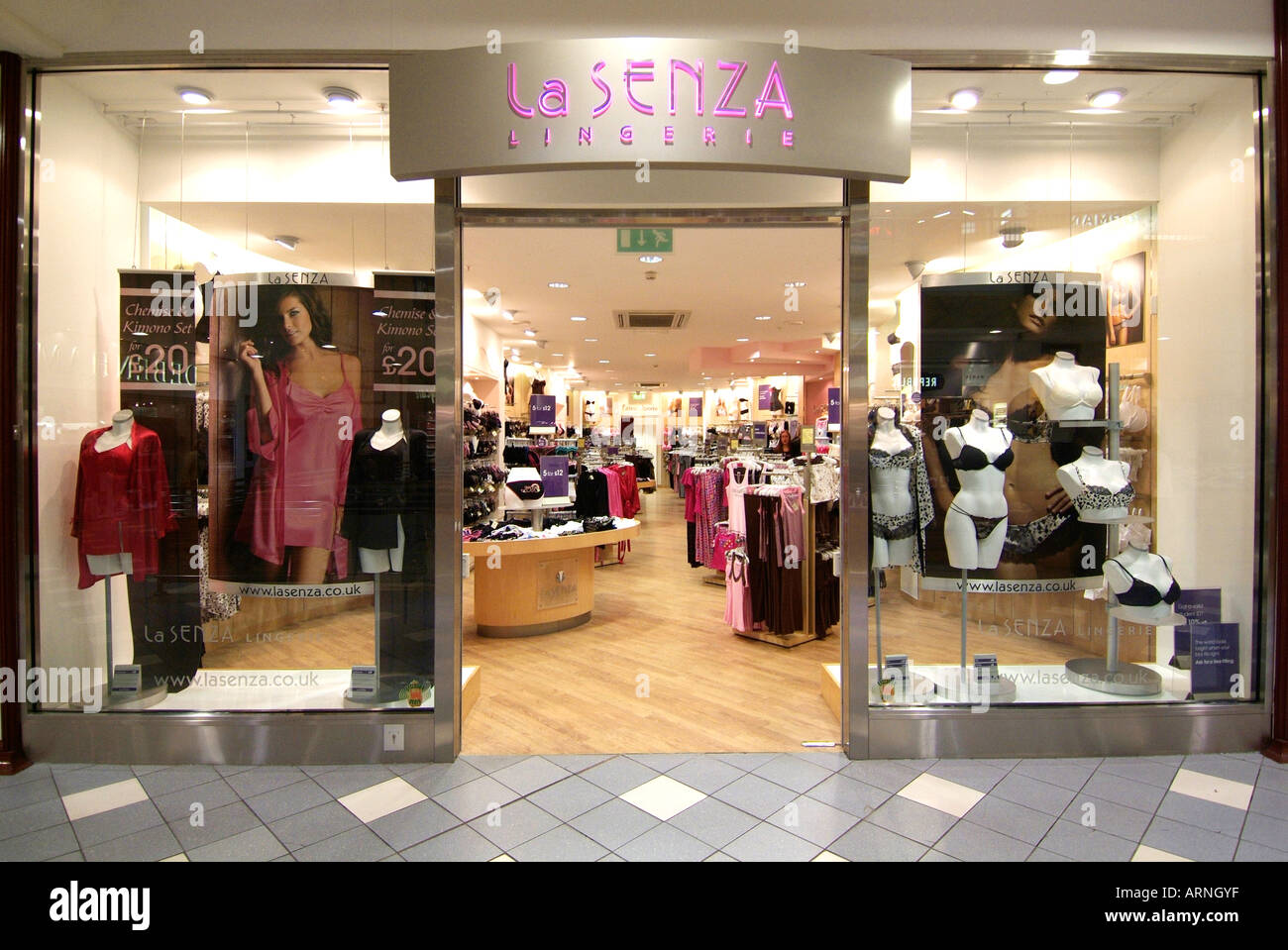 la senza lingerie shop store UK United Kingdom England Europe GB ...