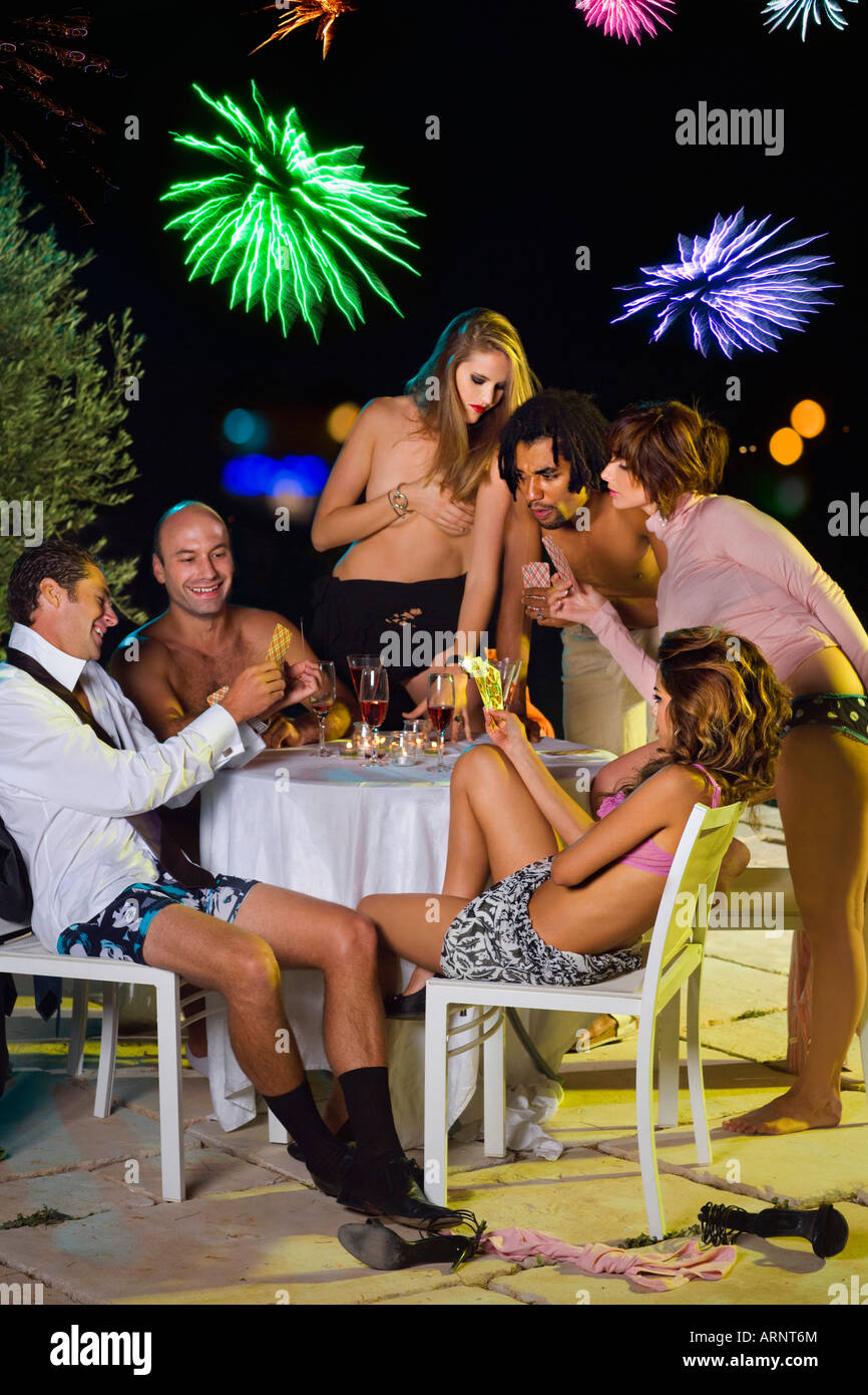night out dirls sex party