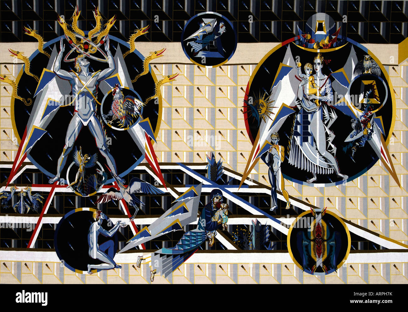 Chernobyl tapestry gift of Belarus to the United Nations UNO New ...
