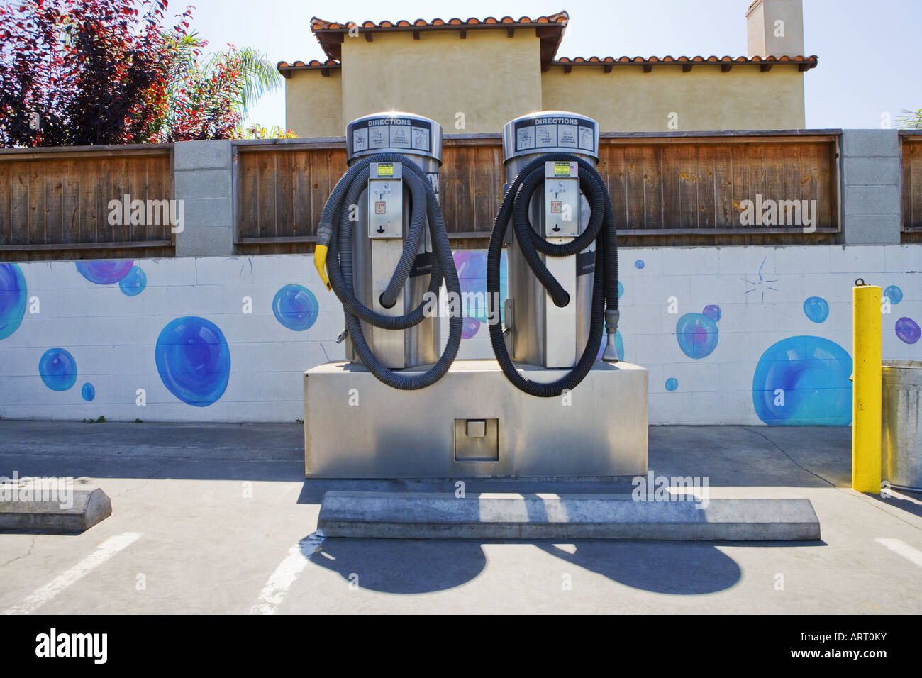 vacuum cleaners at self service car wash stock photo royalty free image 16119278 alamy. Black Bedroom Furniture Sets. Home Design Ideas