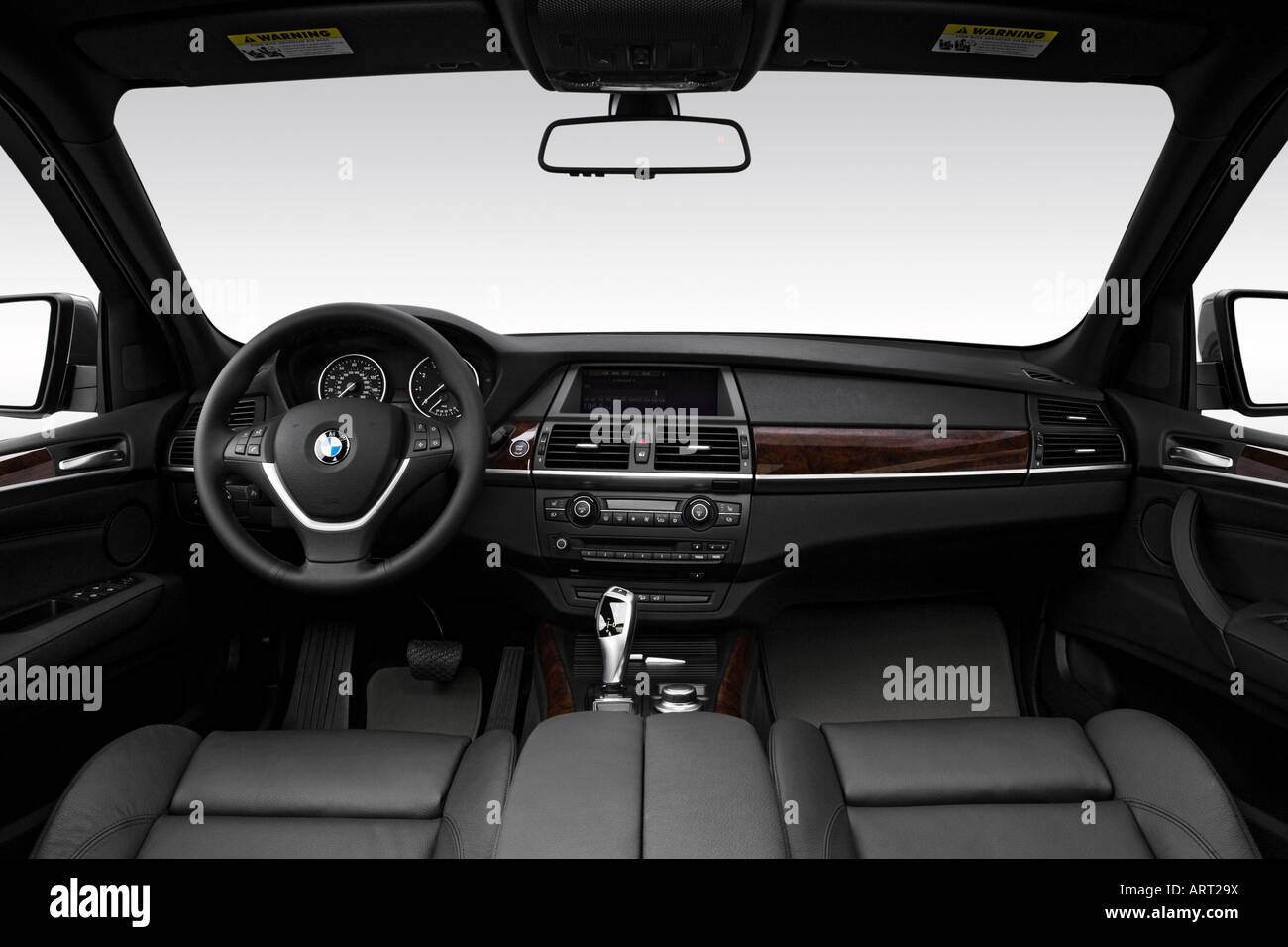 2008 bmw x5 3.0si in gray - dashboard, center console, gear