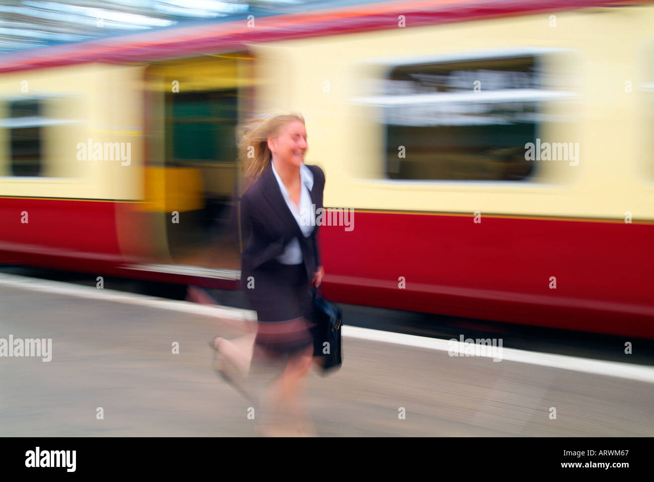 How to run a train on a woman