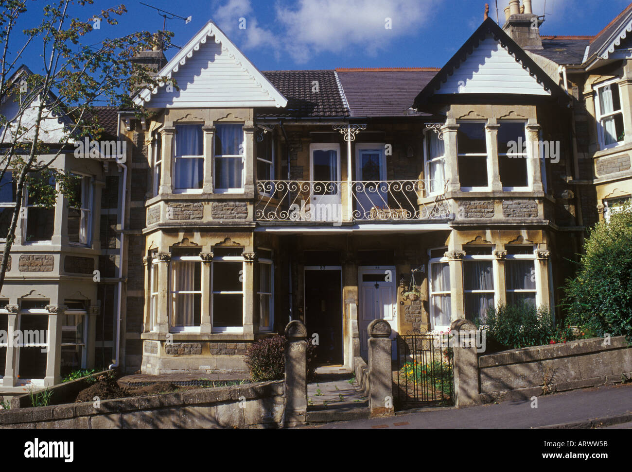 Houses With Bay Windows bath, somerset, england. edwardian stone terrace houses with bay