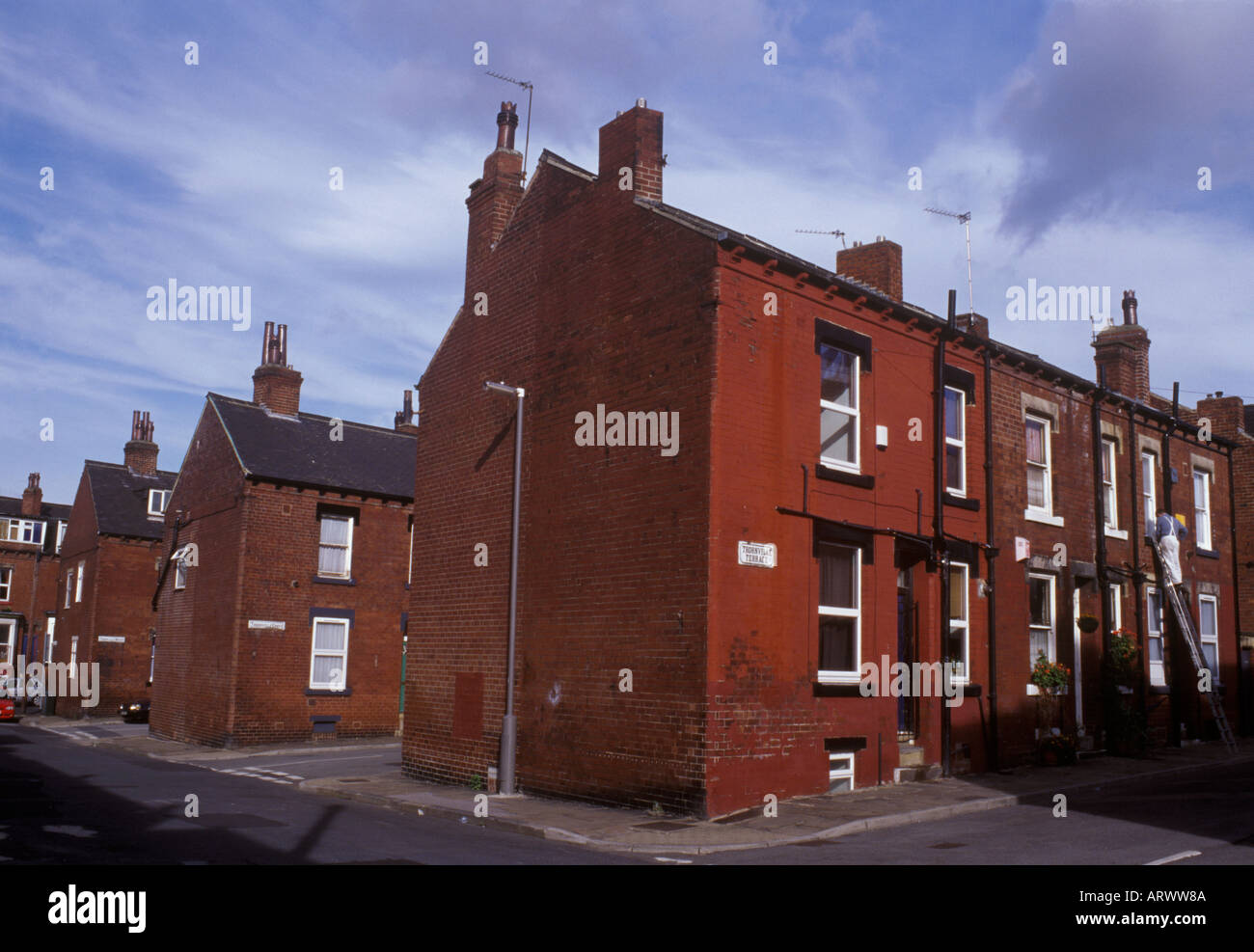Back To Back Houses : Leeds yorkshire england victorian red brick back to