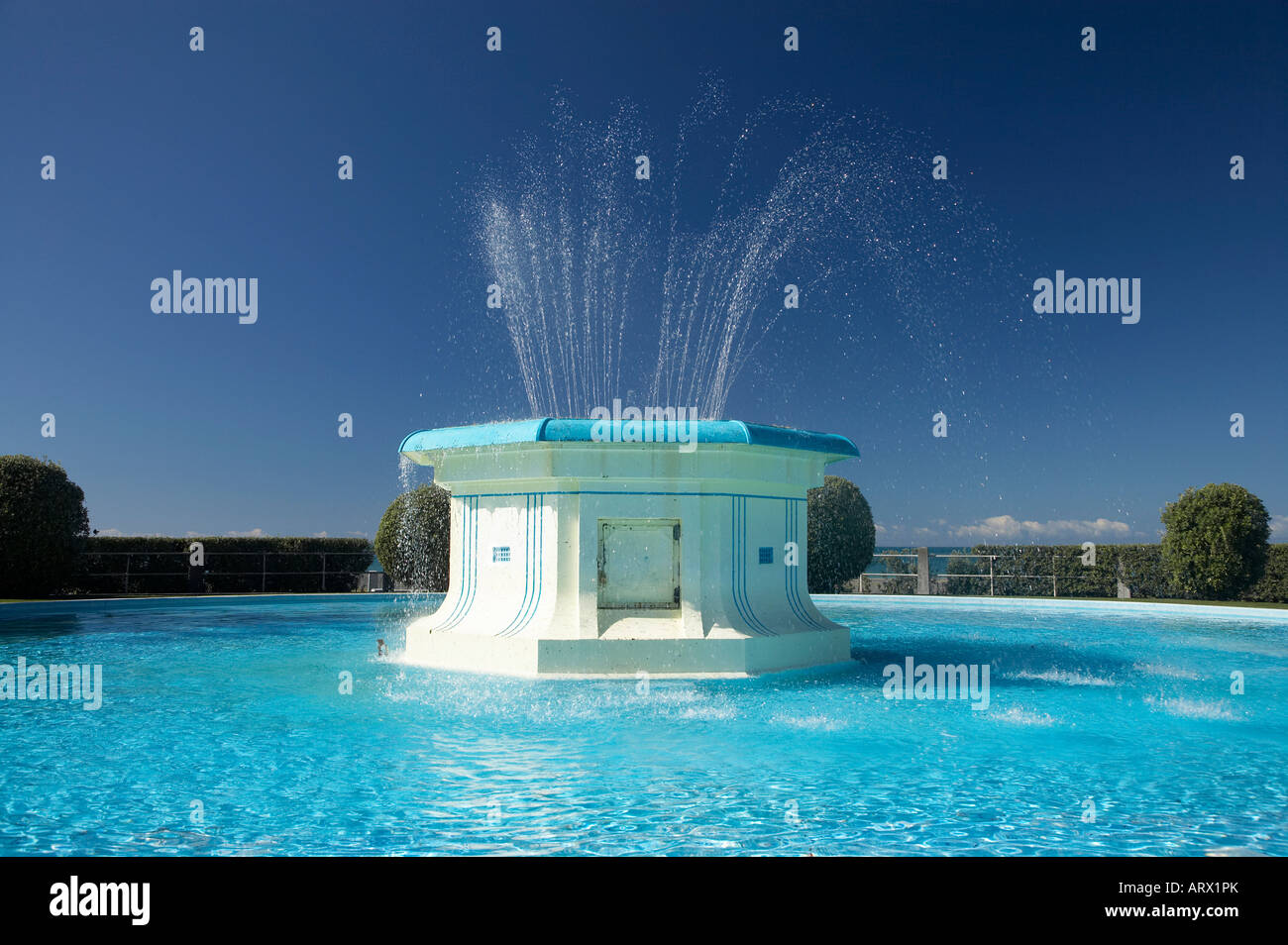 Water fountains outdoor new zealand - Tom Parker Fountain Marine Parade Napier Hawkes Bay North Island New Zealand Stock Image