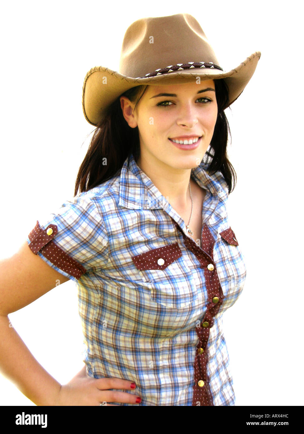 how to wear a cowboy hat girl