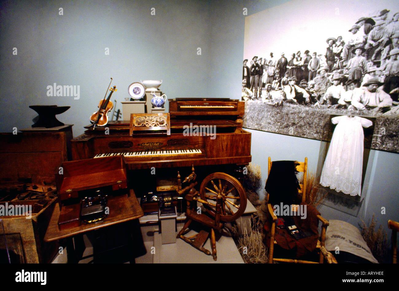 Salt Lake City Utah USA Museum Of Church History U0026 Art Furniture Carried By  Mormon Pioneers