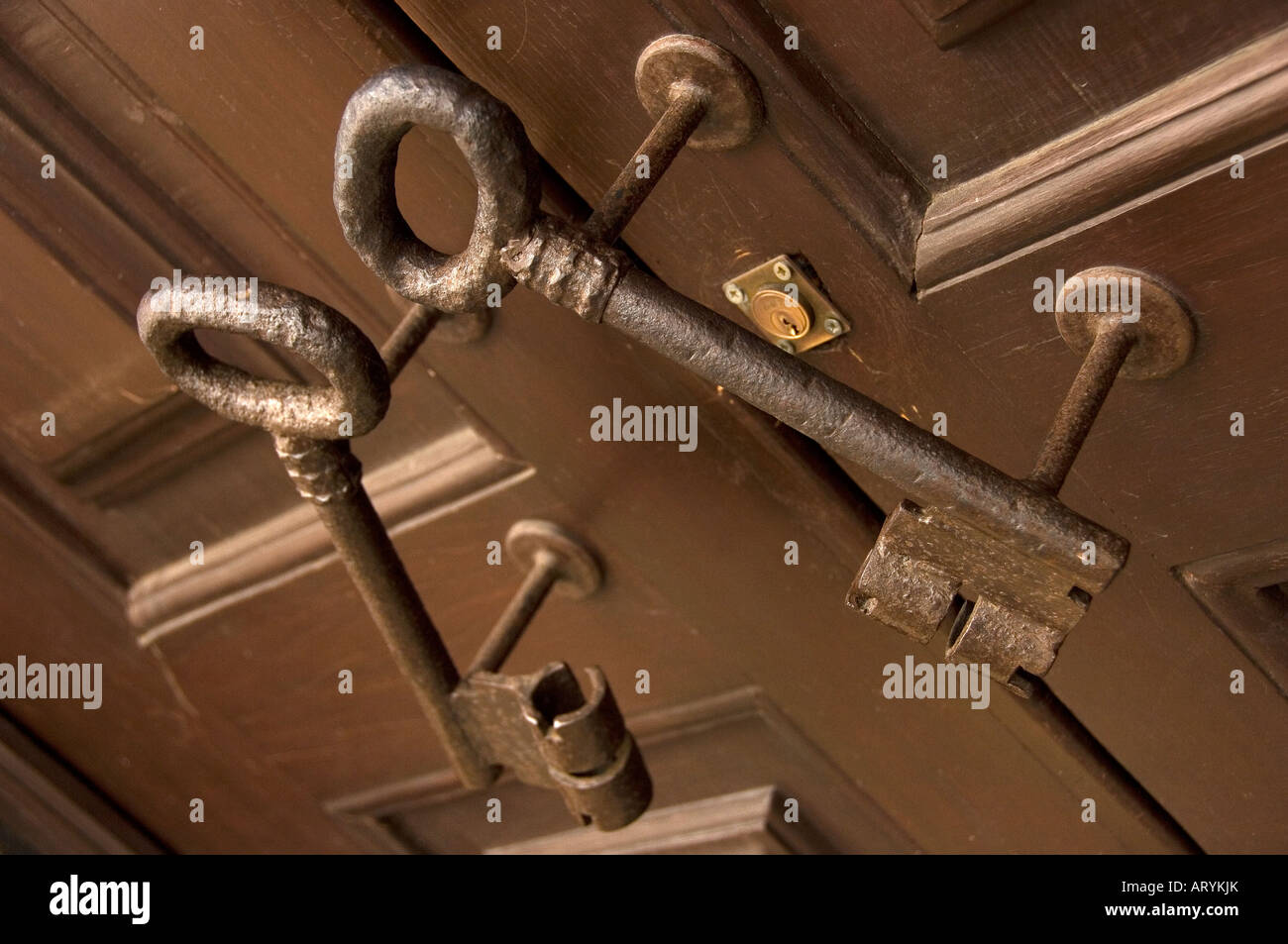 Unusual Door Handles In Shape Of Keys