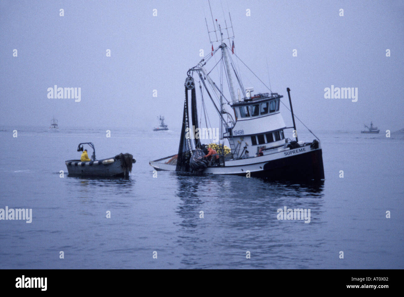 commercial fishing vessel supreme crew pull in sien gear full of, Reel Combo