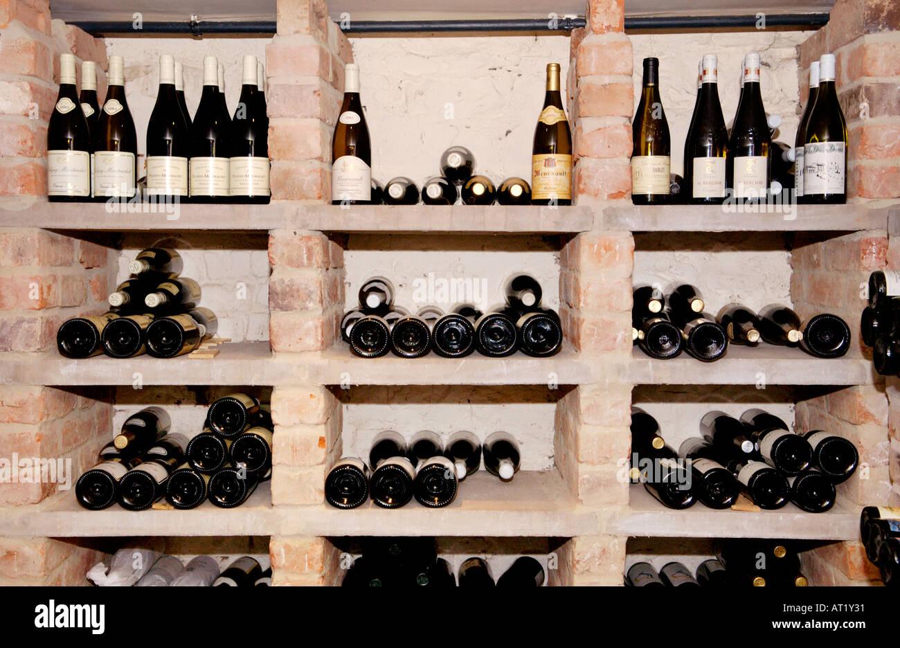 Wine cellar at Hotel du Vin Bristol England UK a restored Sugar ...