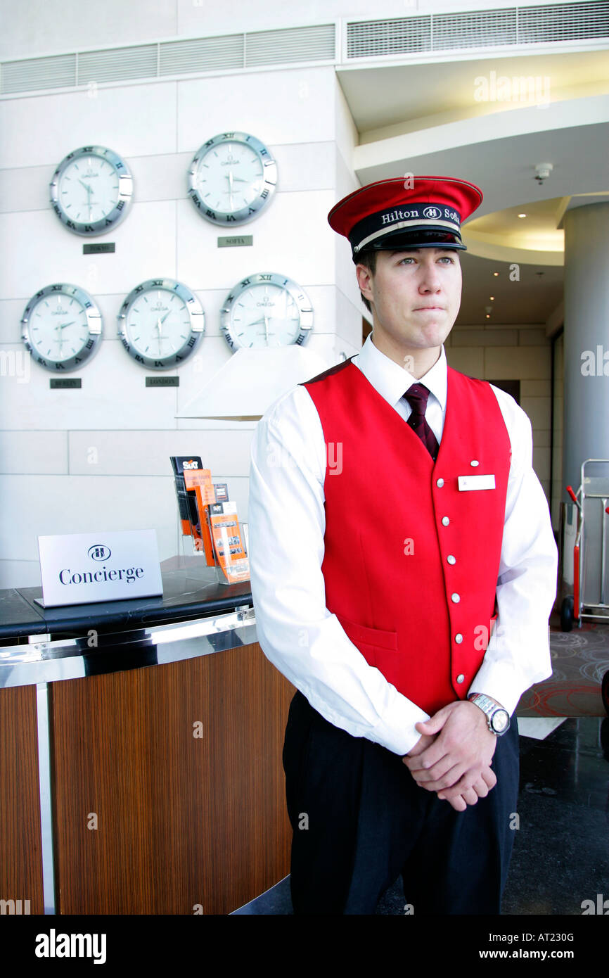 Commissionaire Stand Standing Accommodation Bell Hop Uniform Hotel Staff Entrance Detail Opulent Luxurious Elegant Boy Design