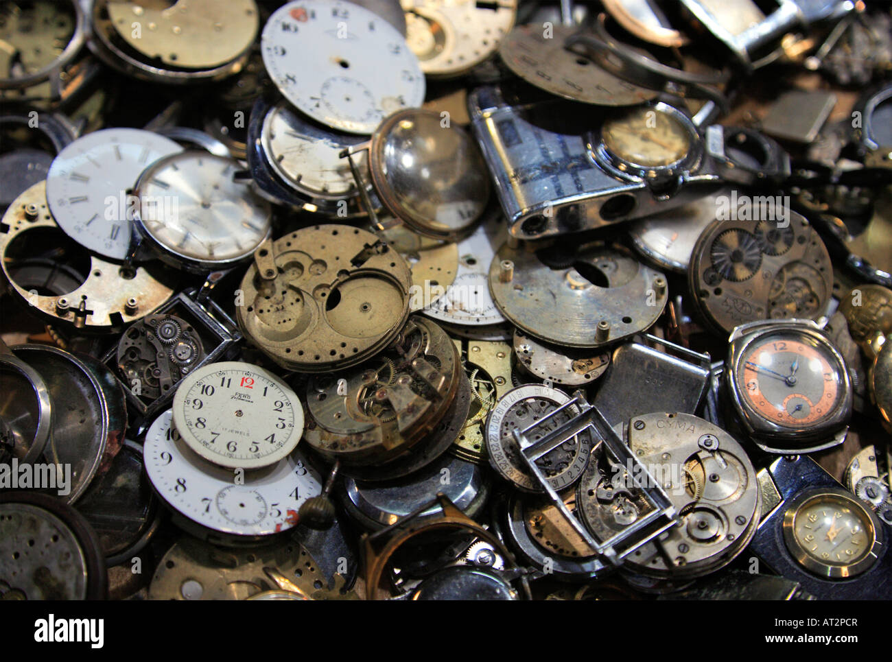 Old Antique Clock Royalty Free Stock Images - Image: 8225649