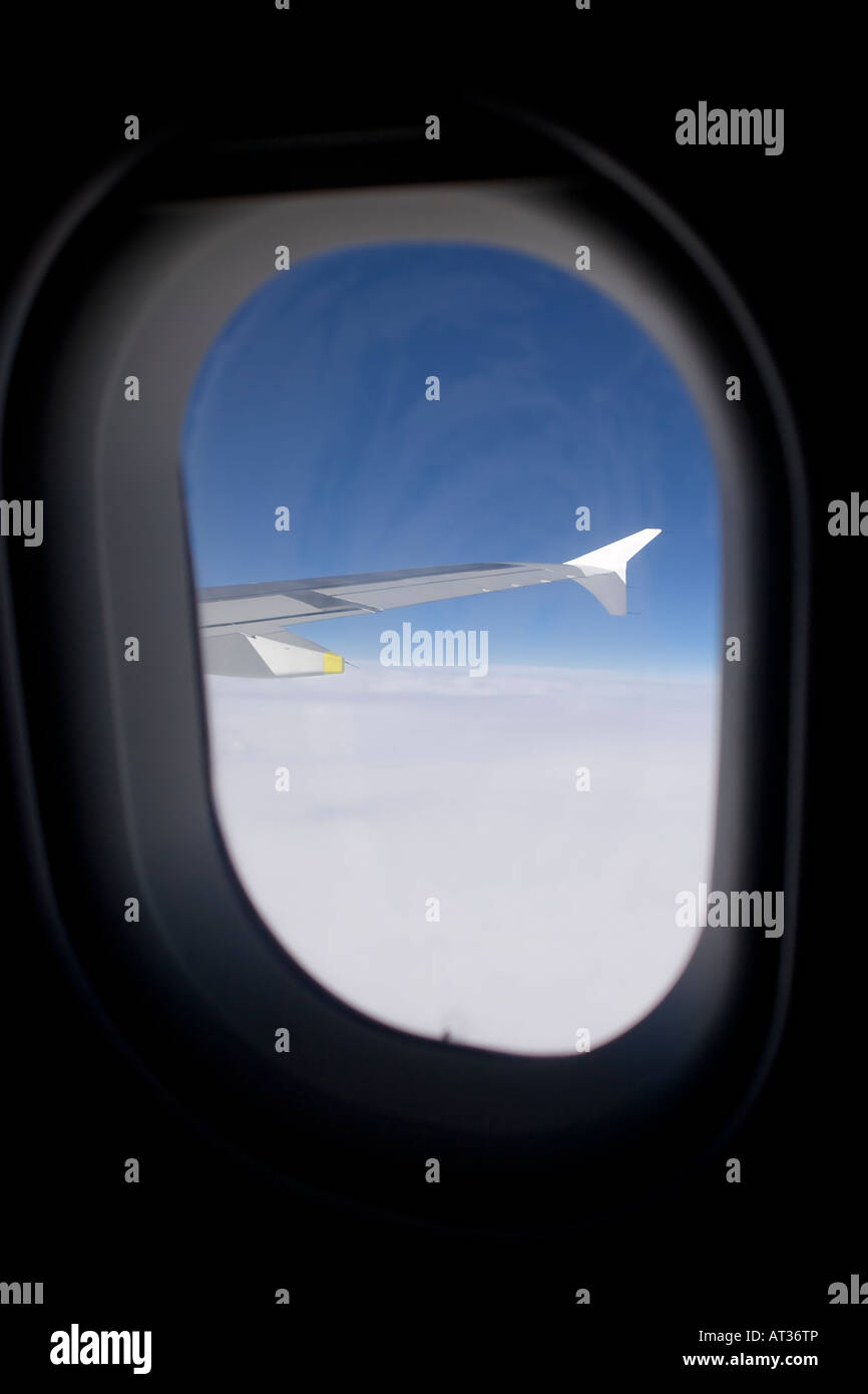 Sitting In A Window Seat Of An Airbus A320 Airliner And