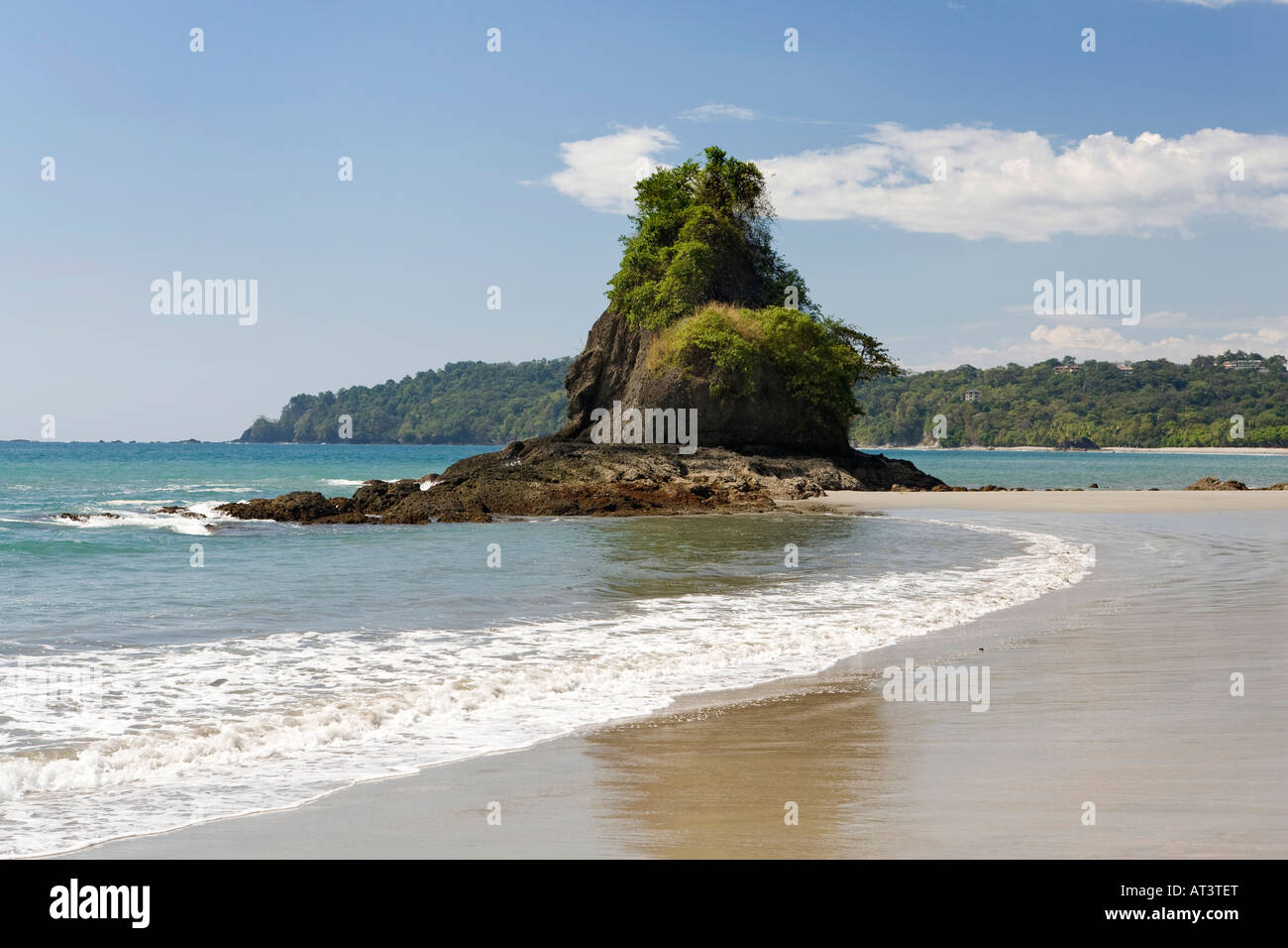 Costa Rica Quepos Manuel Antonio Playa Espadilla Sur Beach