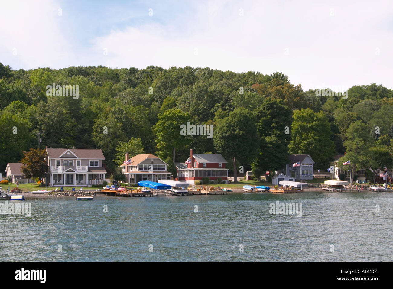 Houses on keuka lake in the finger lakes region of new york state houses on keuka lake in the finger lakes region of new york state sciox Images