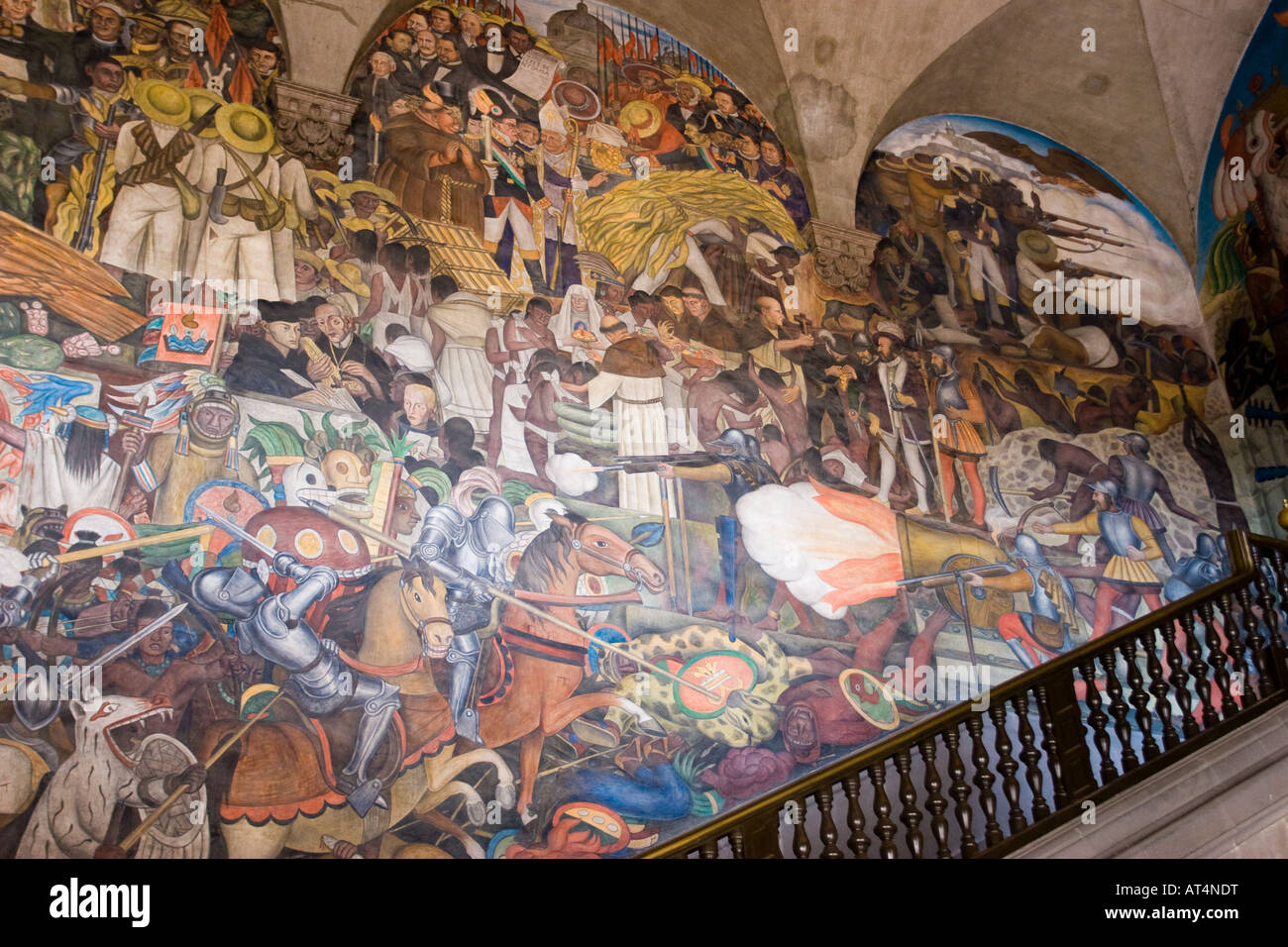 the history of mexico 1929 1935 diego rivera fresco
